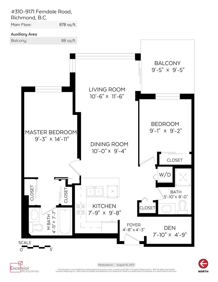 Condo Apartment at 310 9171 FERNDALE ROAD, Unit 310, Richmond, British Columbia. Image 20