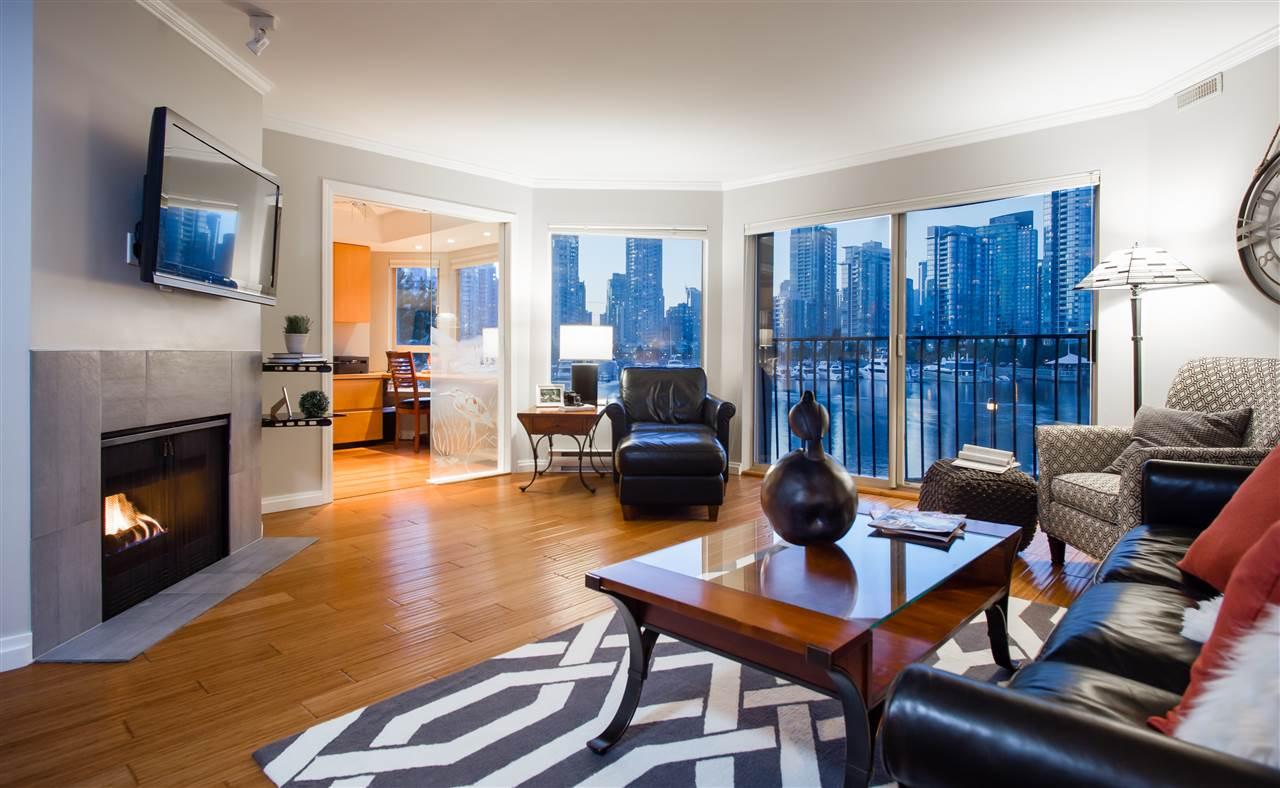 Condo Apartment at 307 1859 SPYGLASS PLACE, Unit 307, Vancouver West, British Columbia. Image 2
