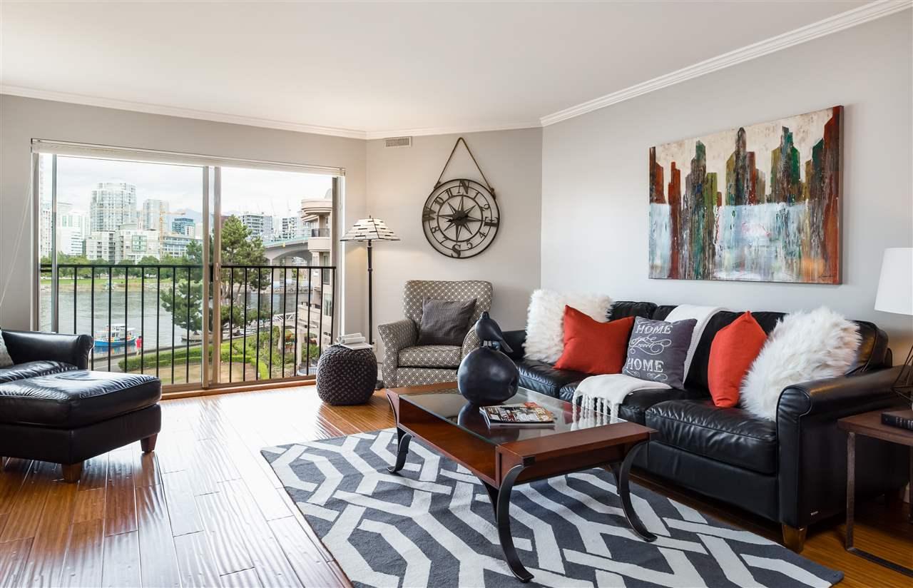 Condo Apartment at 307 1859 SPYGLASS PLACE, Unit 307, Vancouver West, British Columbia. Image 6