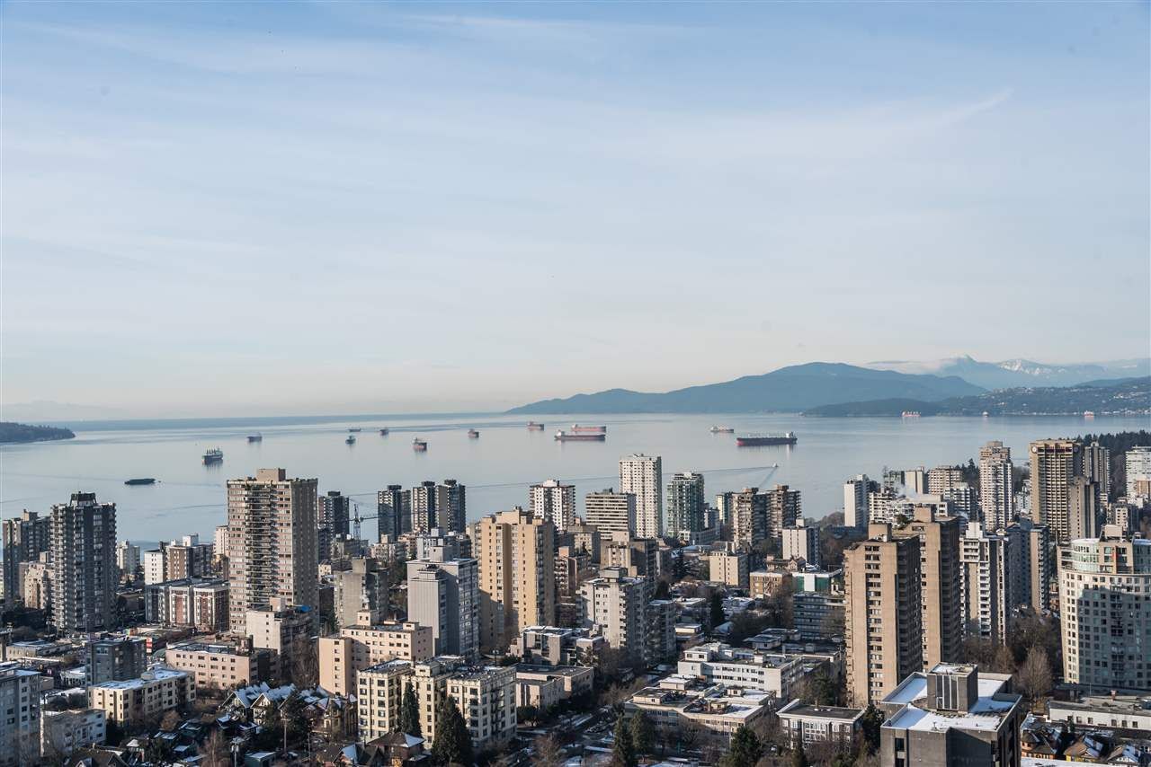 Condo Apartment at 3802 1028 BARCLAY STREET, Unit 3802, Vancouver West, British Columbia. Image 1