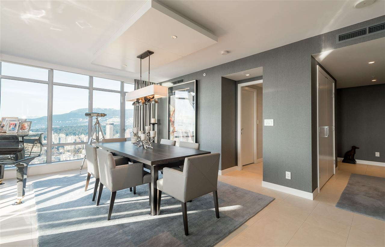 Condo Apartment at 3802 1028 BARCLAY STREET, Unit 3802, Vancouver West, British Columbia. Image 3