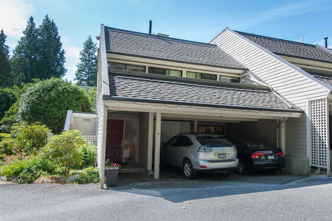 Townhouse at 12 4957 MARINE DRIVE, Unit 12, West Vancouver, British Columbia. Image 16