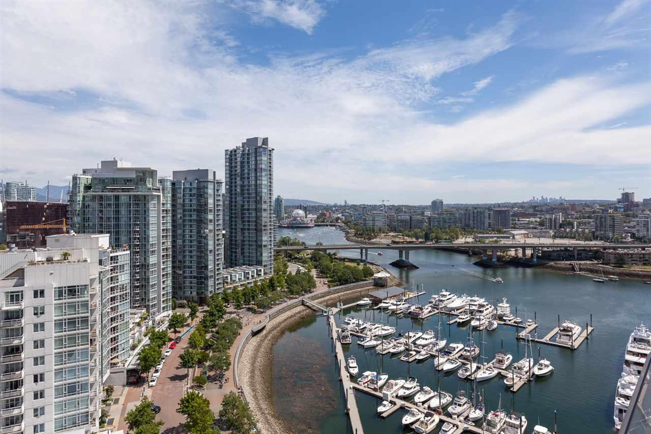 Condo Apartment at 2203 1201 MARINASIDE CRESCENT, Unit 2203, Vancouver West, British Columbia. Image 1