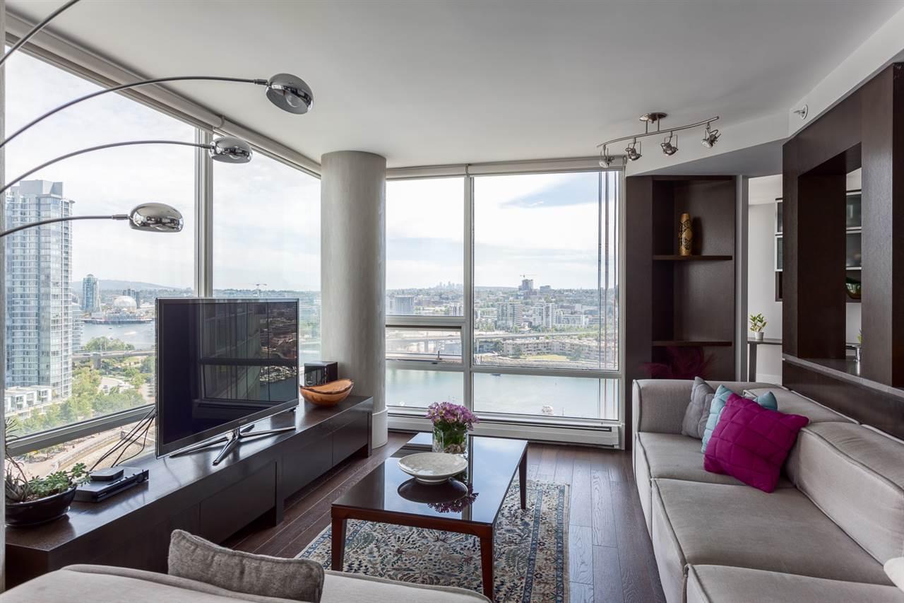 Condo Apartment at 2203 1201 MARINASIDE CRESCENT, Unit 2203, Vancouver West, British Columbia. Image 2