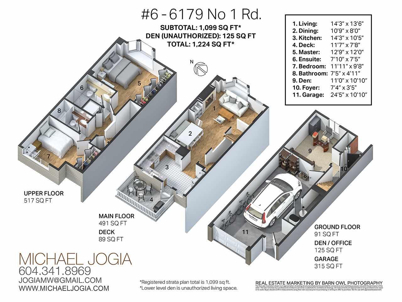 Townhouse at 6 6179 NO 1 ROAD, Unit 6, Richmond, British Columbia. Image 20