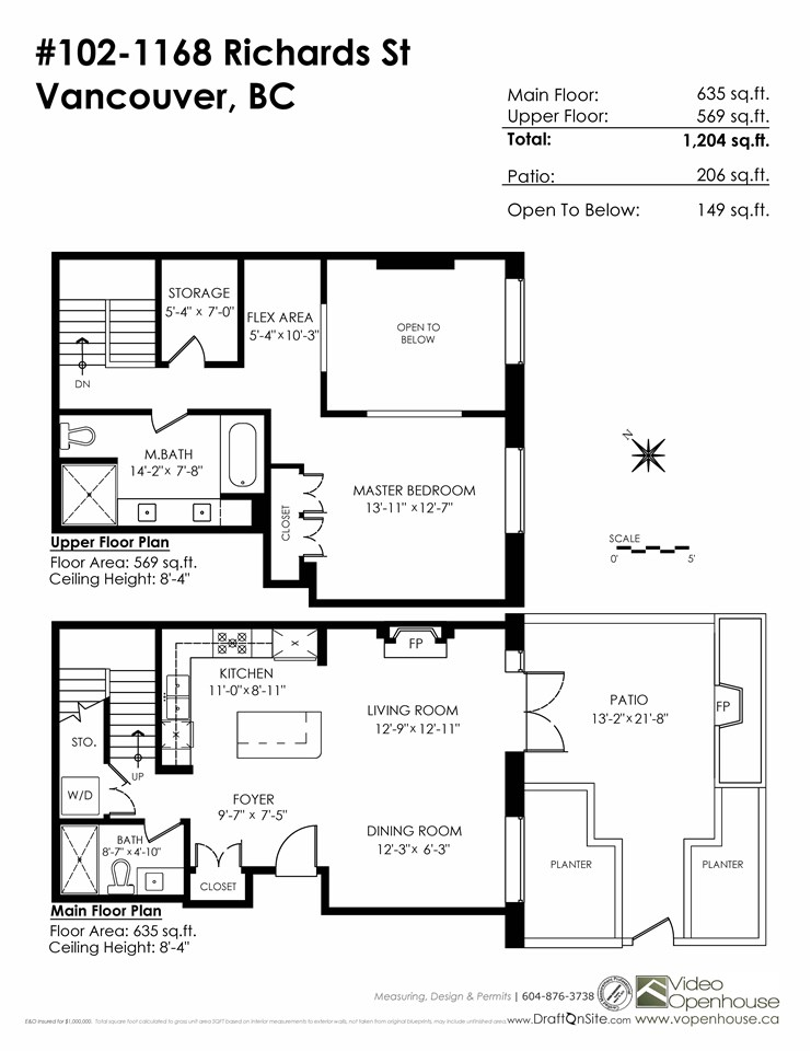 Townhouse at 102 1168 RICHARDS STREET, Unit 102, Vancouver West, British Columbia. Image 20