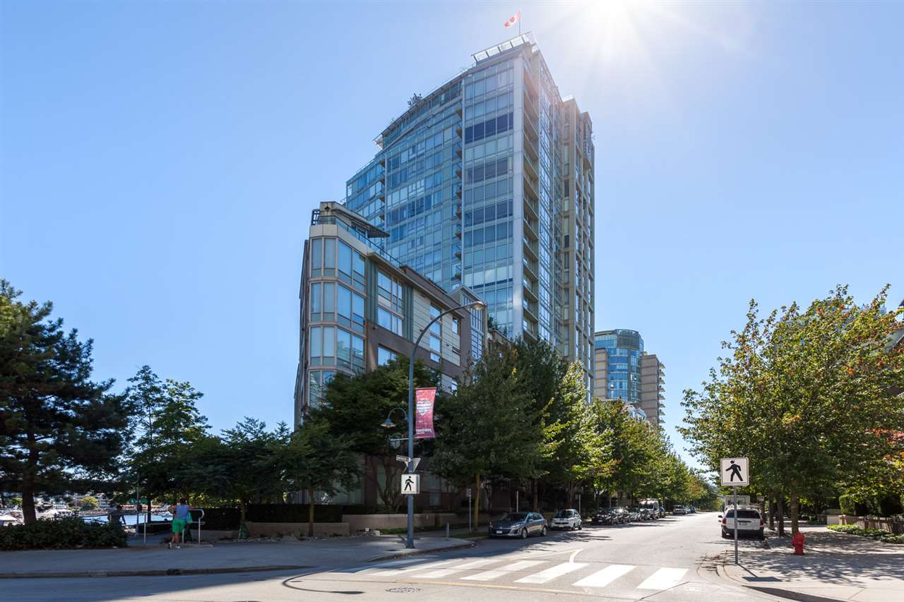 Condo Apartment at 305 1228 MARINASIDE CRESCENT, Unit 305, Vancouver West, British Columbia. Image 1