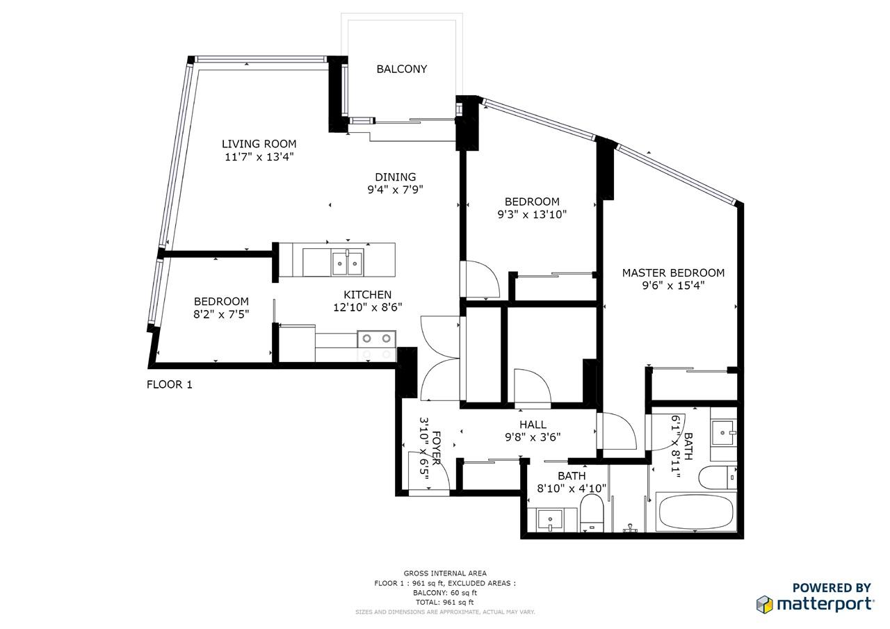 Condo Apartment at 1808 689 ABBOTT STREET, Unit 1808, Vancouver West, British Columbia. Image 18