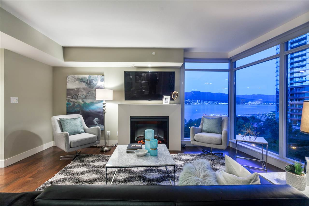 Condo Apartment at 904 1205 W HASTINGS STREET, Unit 904, Vancouver West, British Columbia. Image 4