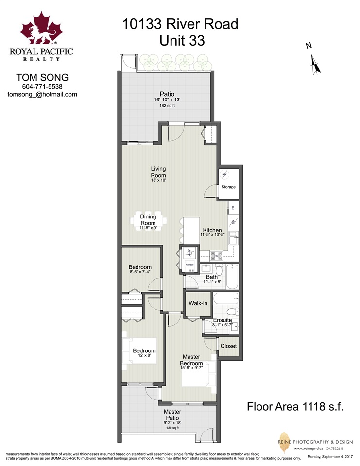 Townhouse at 33 10133 RIVER DRIVE, Unit 33, Richmond, British Columbia. Image 20
