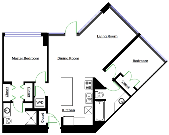 Condo Apartment at 2301 6188 WILSON AVENUE, Unit 2301, Burnaby South, British Columbia. Image 17