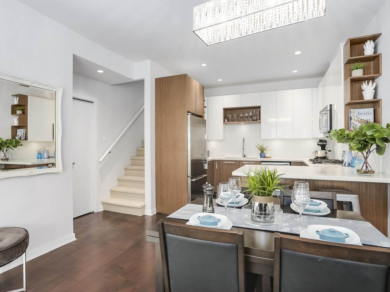 Townhouse at 8428 GLADSTONE STREET, Vancouver East, British Columbia. Image 5