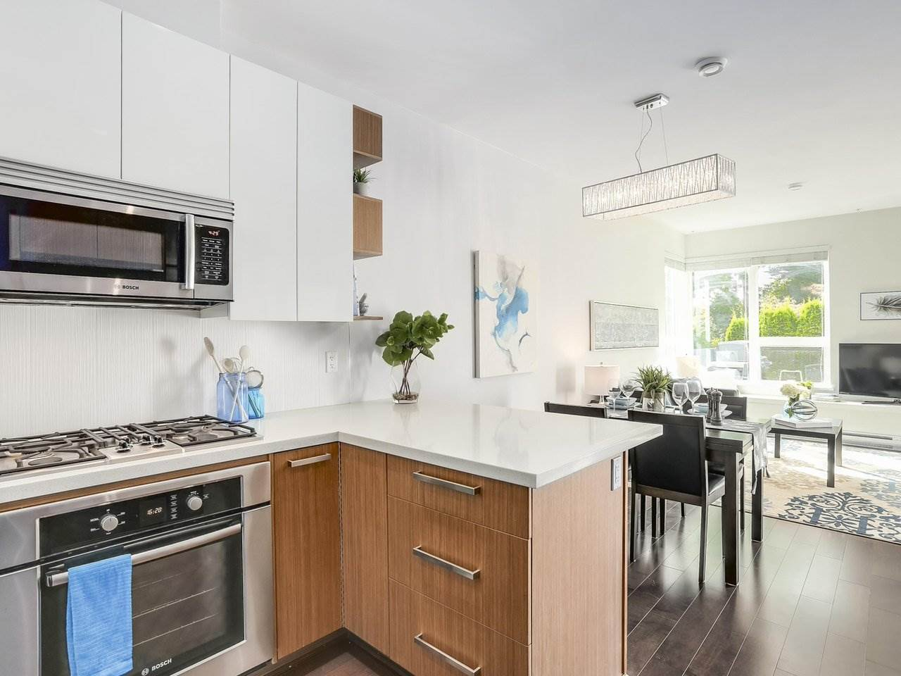 Townhouse at 8428 GLADSTONE STREET, Vancouver East, British Columbia. Image 7