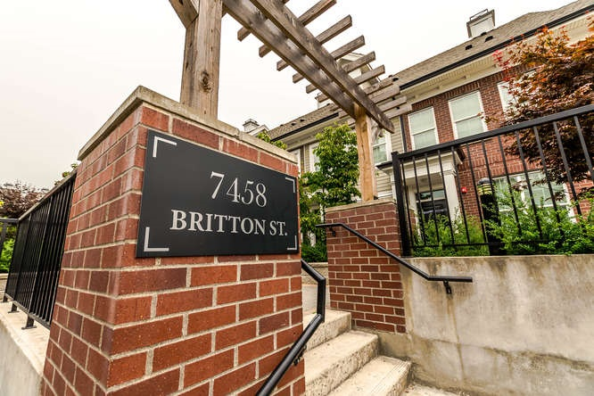 Townhouse at 45 7458 BRITTON STREET, Unit 45, Burnaby East, British Columbia. Image 13