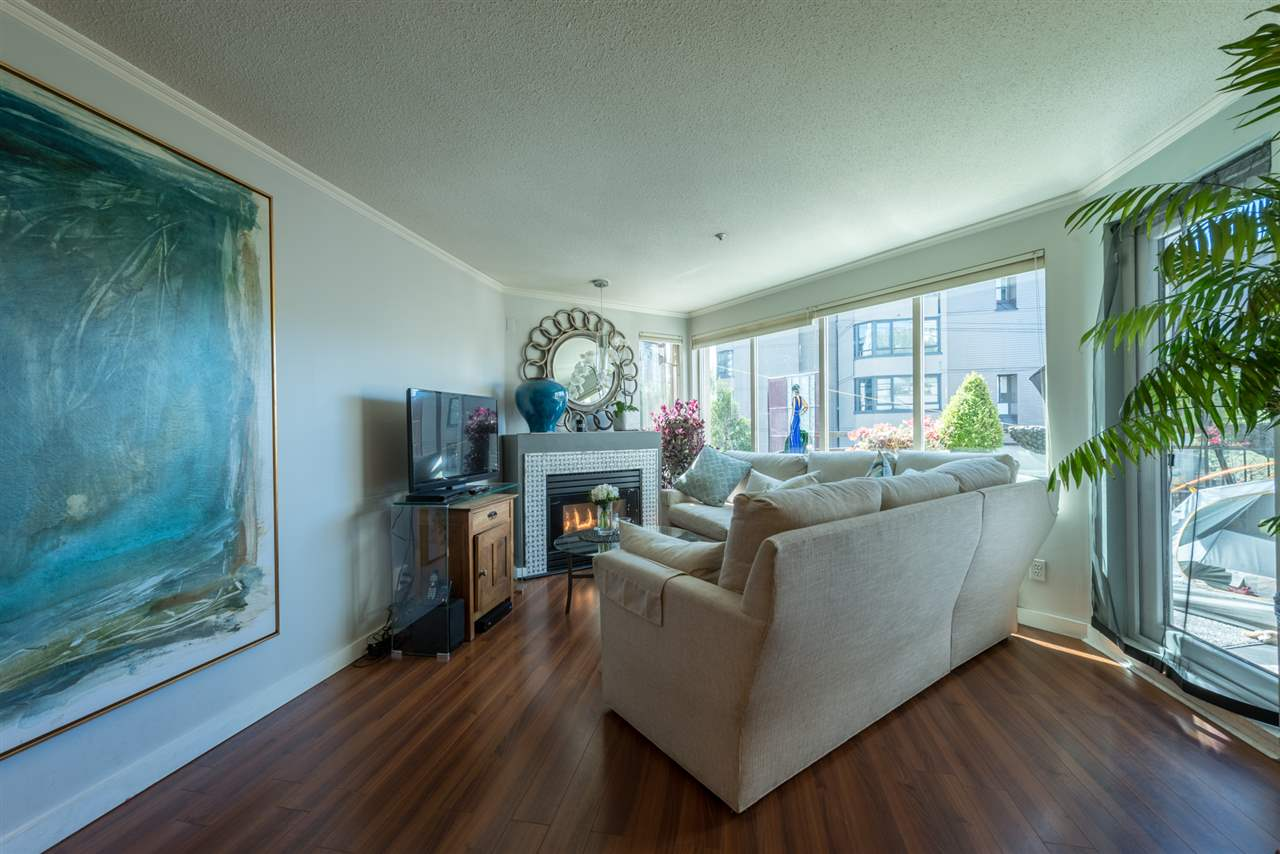 Condo Apartment at 208 1208 BIDWELL STREET, Unit 208, Vancouver West, British Columbia. Image 1