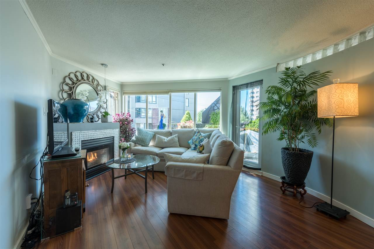 Condo Apartment at 208 1208 BIDWELL STREET, Unit 208, Vancouver West, British Columbia. Image 3