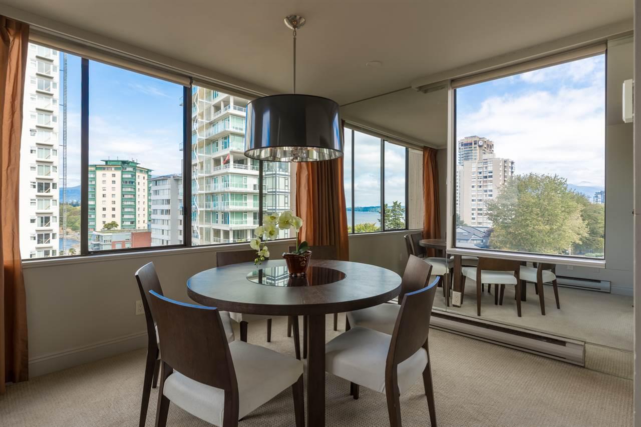 Condo Apartment at 801 1236 BIDWELL STREET, Unit 801, Vancouver West, British Columbia. Image 7