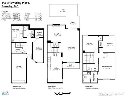 Townhouse at 8563 FLOWERING PLACE, Burnaby North, British Columbia. Image 16
