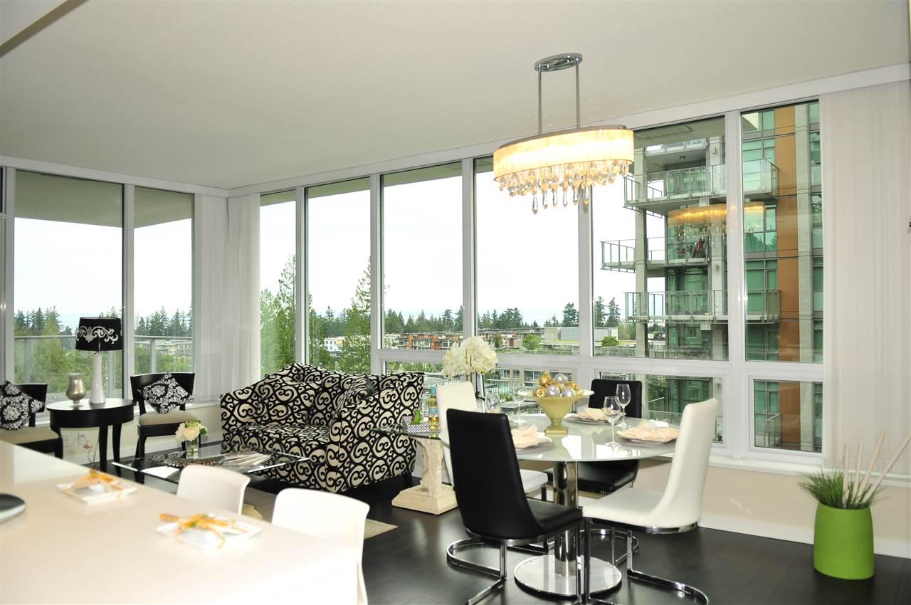 Condo Apartment at 1105 5728 BERTON AVENUE, Unit 1105, Vancouver West, British Columbia. Image 3