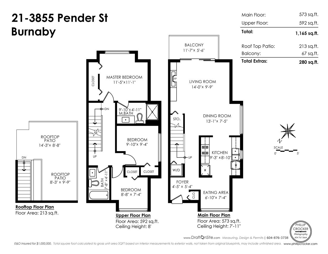 Townhouse at 21 3855 PENDER STREET, Unit 21, Burnaby North, British Columbia. Image 20