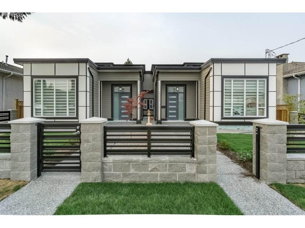 Half-duplex at 8231 16TH AVENUE, Burnaby East, British Columbia. Image 1