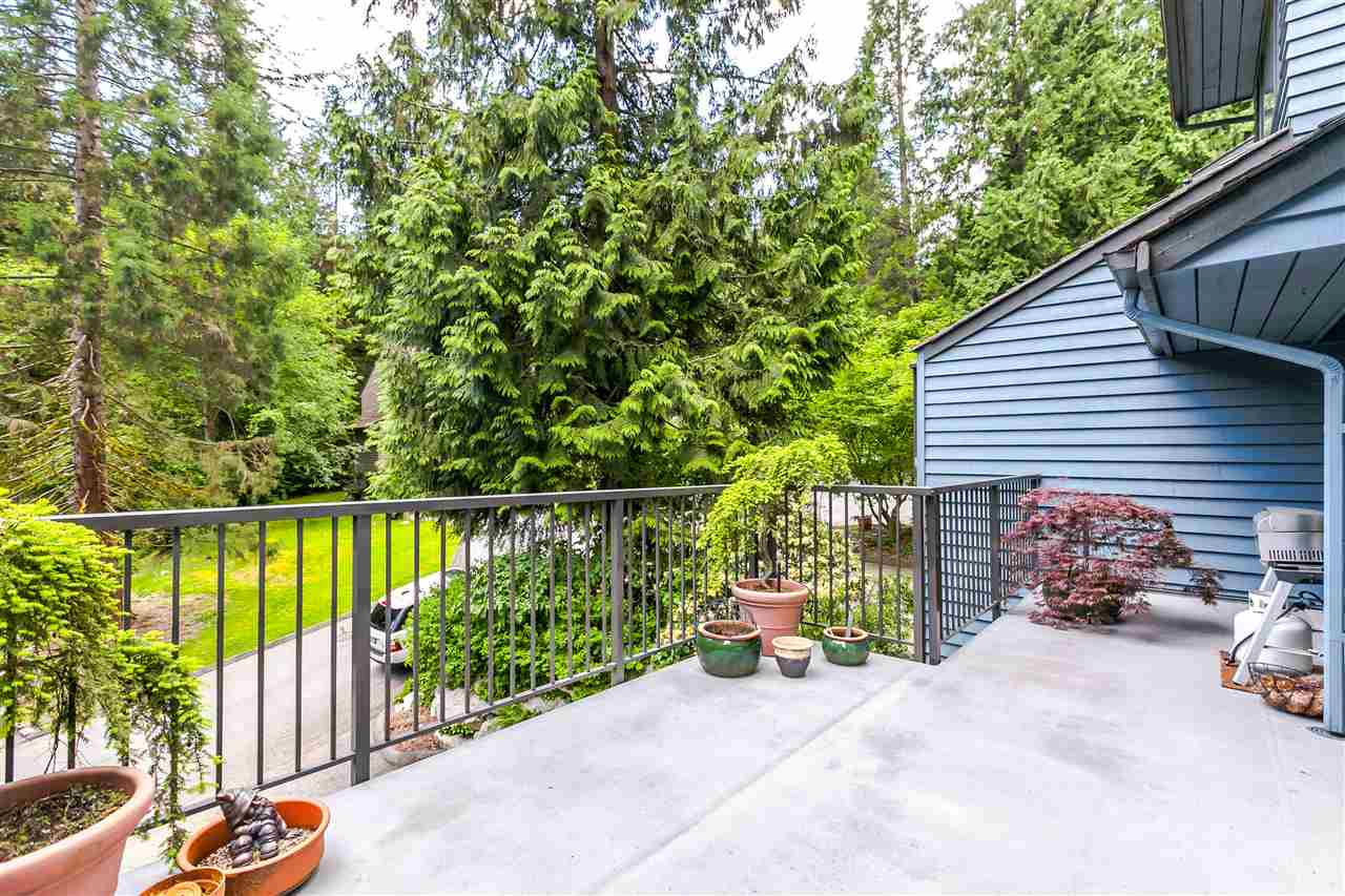 Townhouse at 836 HENDECOURT ROAD, North Vancouver, British Columbia. Image 1