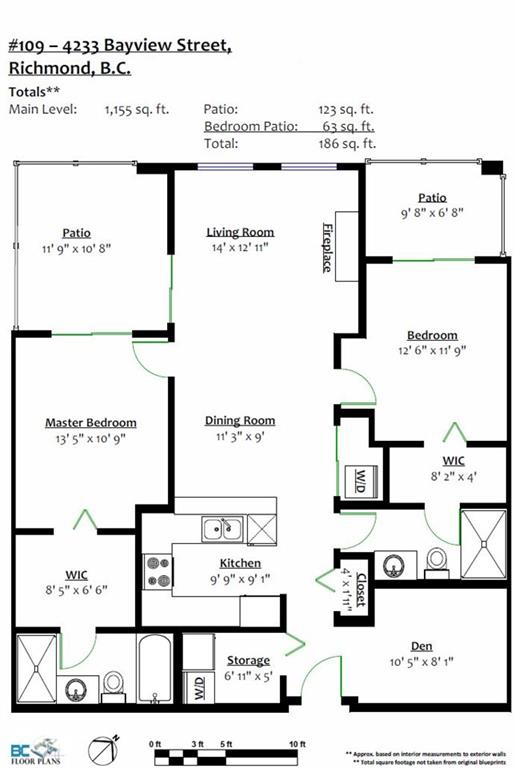 Condo Apartment at 109 4233 BAYVIEW STREET, Unit 109, Richmond, British Columbia. Image 17