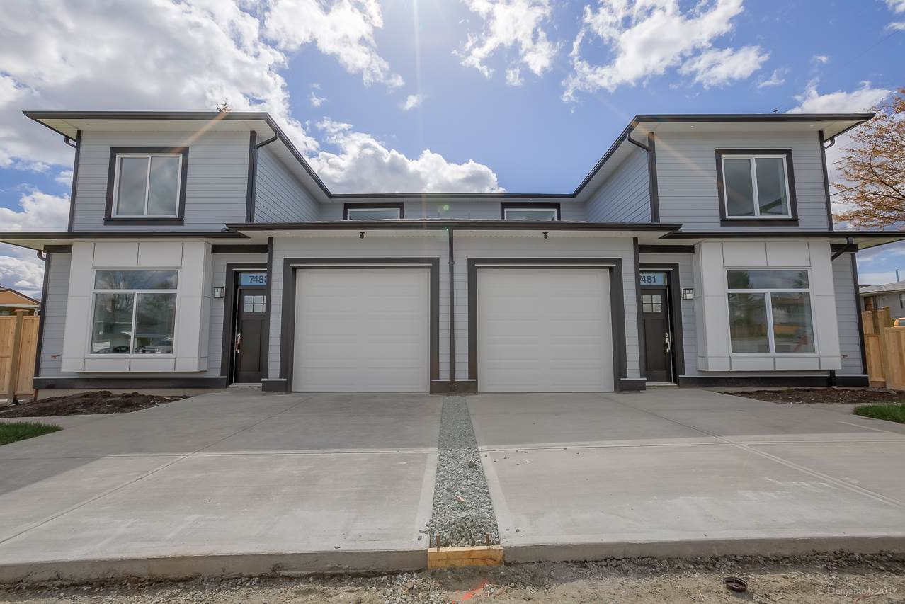 Half-duplex at 7483 MARY AVENUE, Burnaby East, British Columbia. Image 2