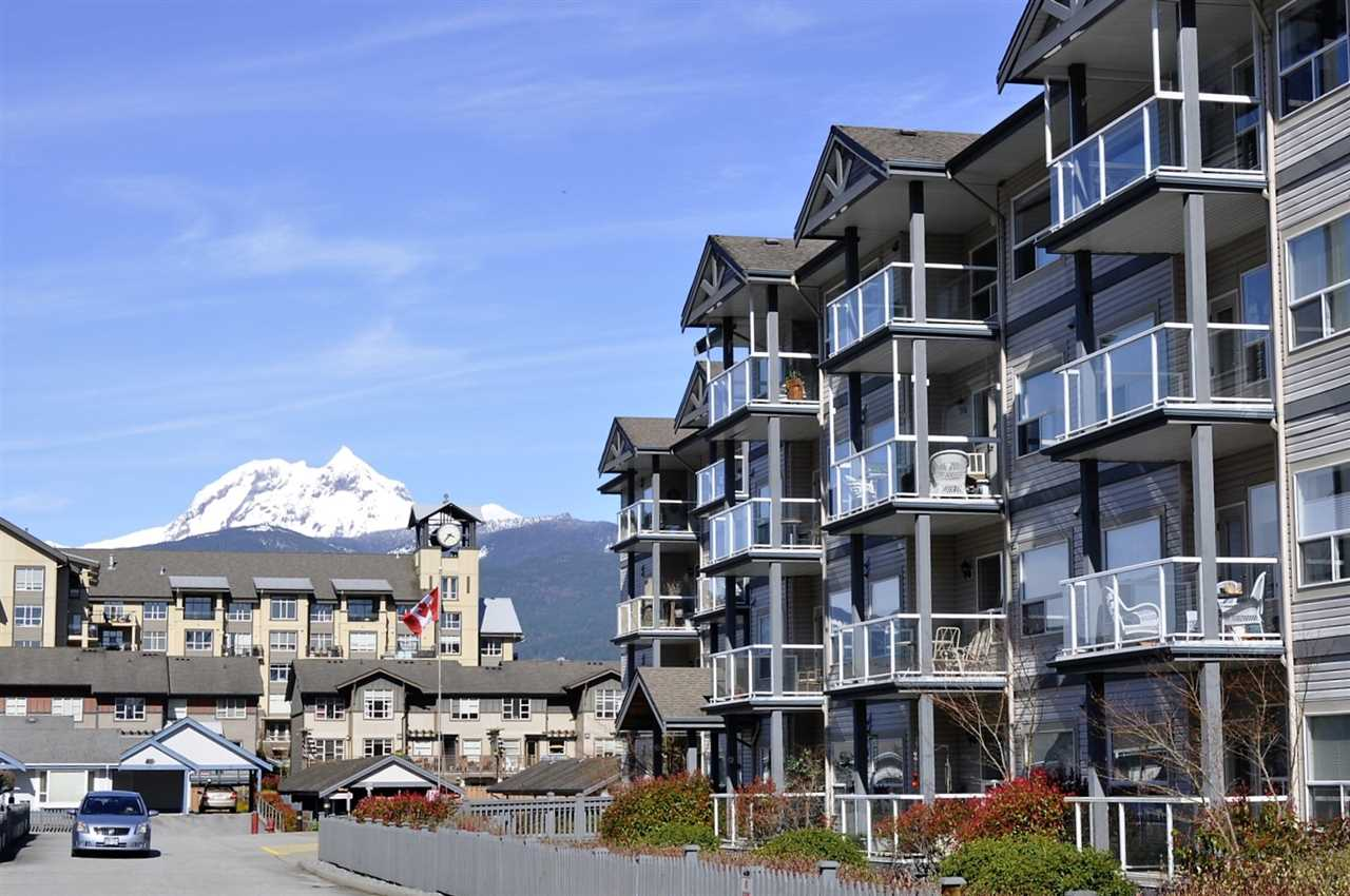 Condo Apartment at 305 1203 PEMBERTON AVENUE, Unit 305, Squamish, British Columbia. Image 1