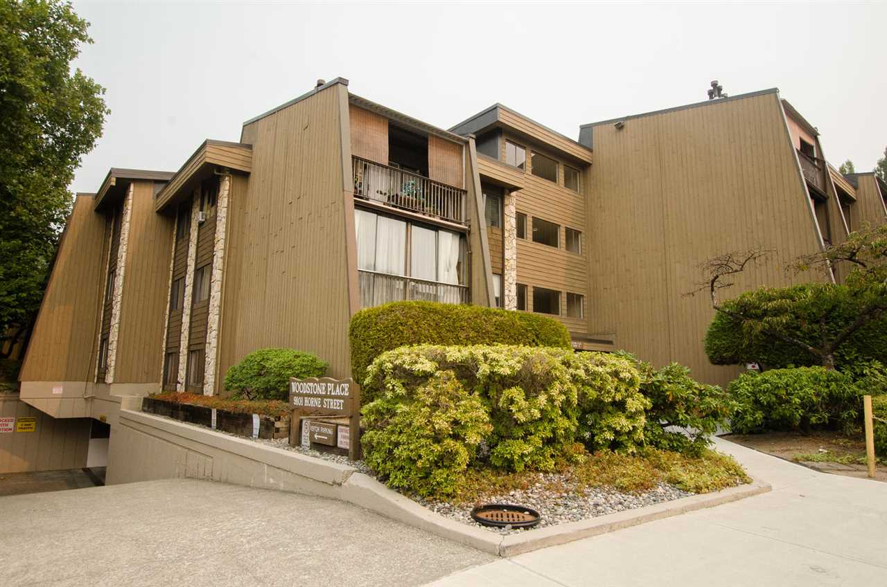 Condo Apartment at 211 9101 HORNE STREET, Unit 211, Burnaby North, British Columbia. Image 1