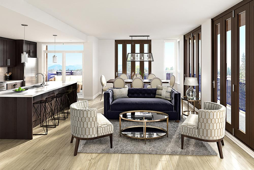 Condo Apartment at 402 2565 WARE STREET, Unit 402, Abbotsford, British Columbia. Image 3