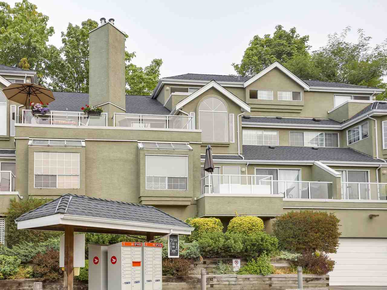 Townhouse at 2329 QUAYSIDE COURT, Vancouver East, British Columbia. Image 3
