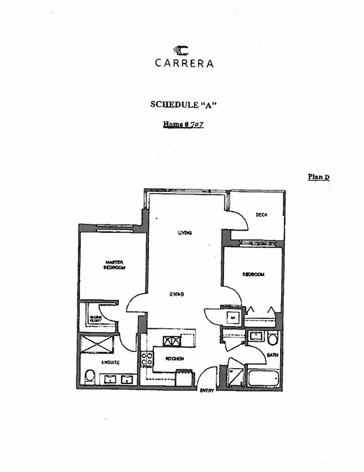 Condo Apartment at 707 7338 GOLLNER AVENUE, Unit 707, Richmond, British Columbia. Image 8