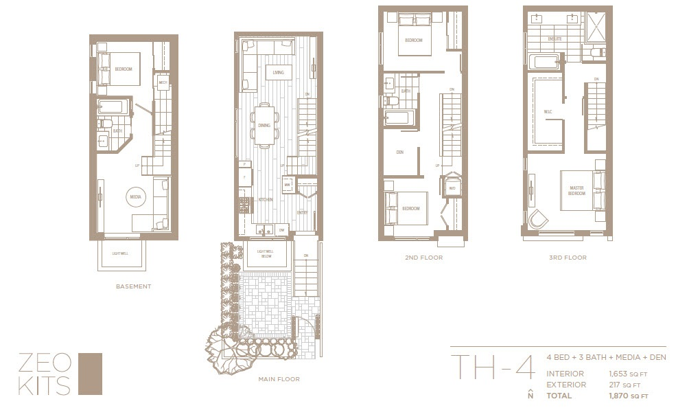 Townhouse at 2443 W BROADWAY STREET, Vancouver West, British Columbia. Image 4