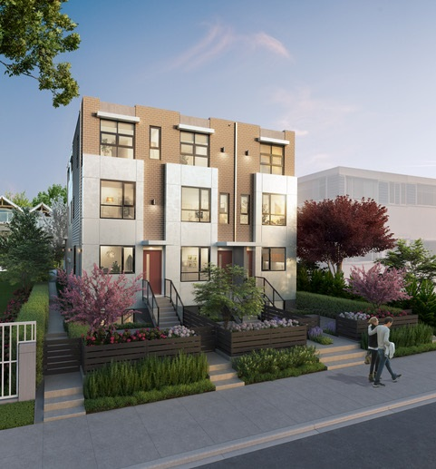 Townhouse at 2443 W BROADWAY STREET, Vancouver West, British Columbia. Image 5