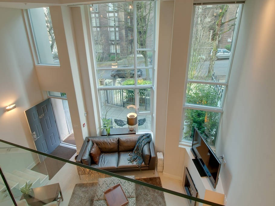 Townhouse at 621 JERVIS STREET, Vancouver West, British Columbia. Image 10