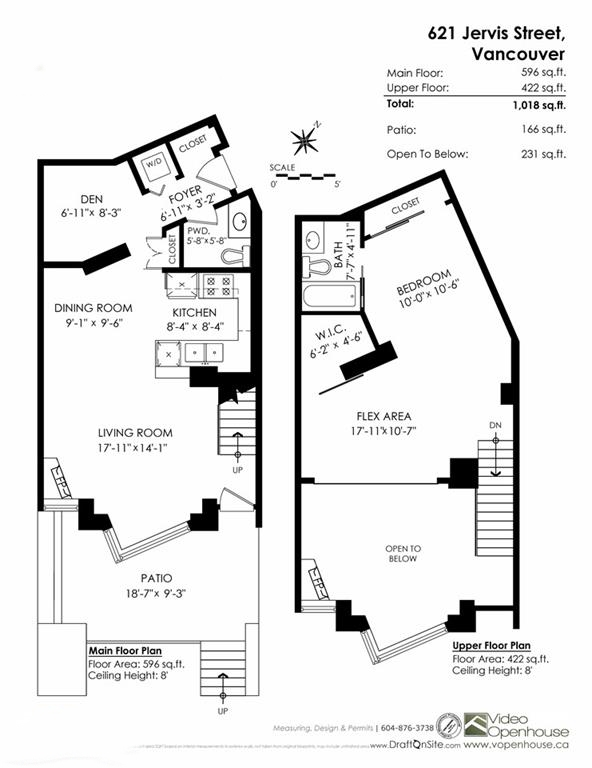 Townhouse at 621 JERVIS STREET, Vancouver West, British Columbia. Image 20