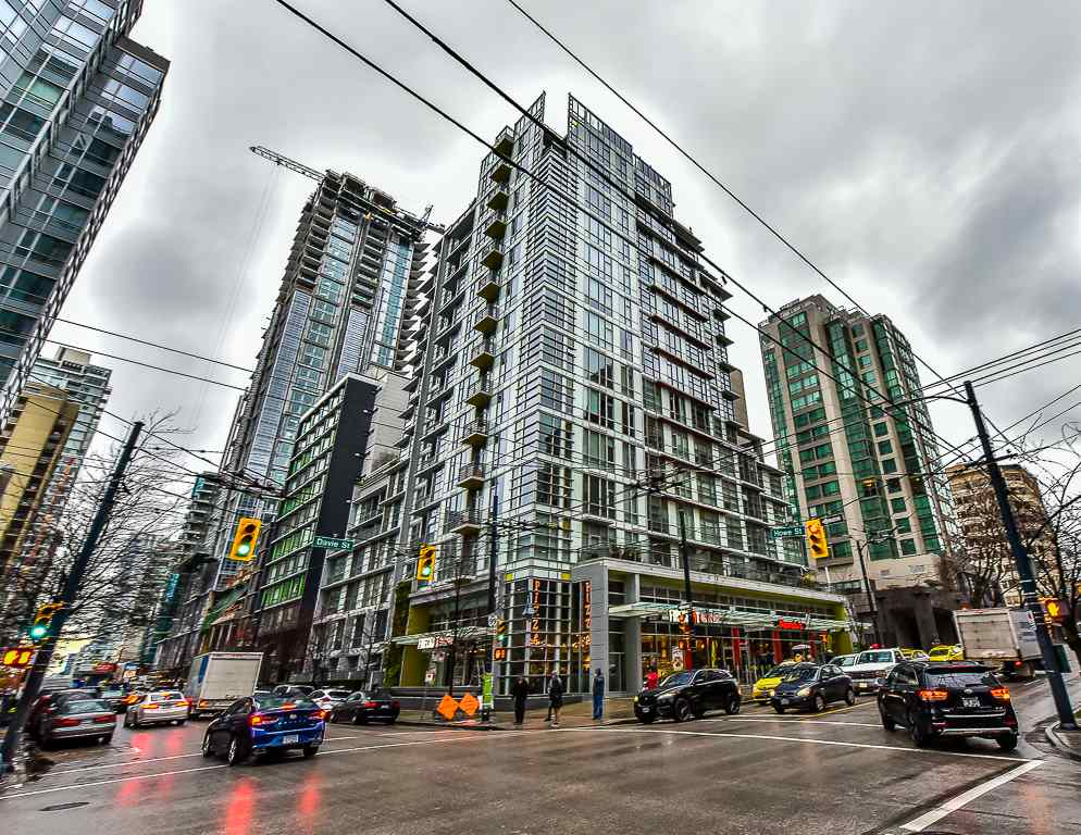 Condo Apartment at 906 1205 HOWE STREET, Unit 906, Vancouver West, British Columbia. Image 1