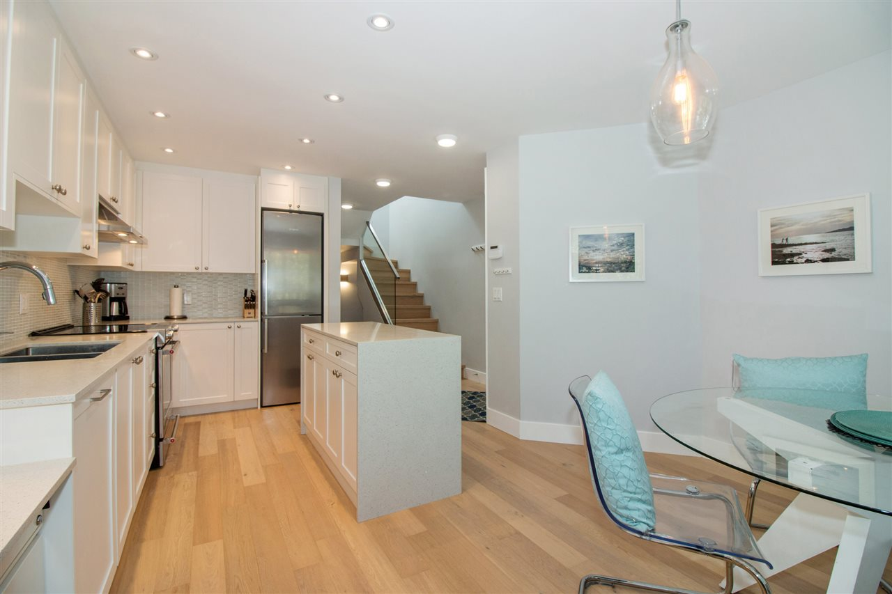 Townhouse at 2 1214 W 7TH AVENUE, Unit 2, Vancouver West, British Columbia. Image 7