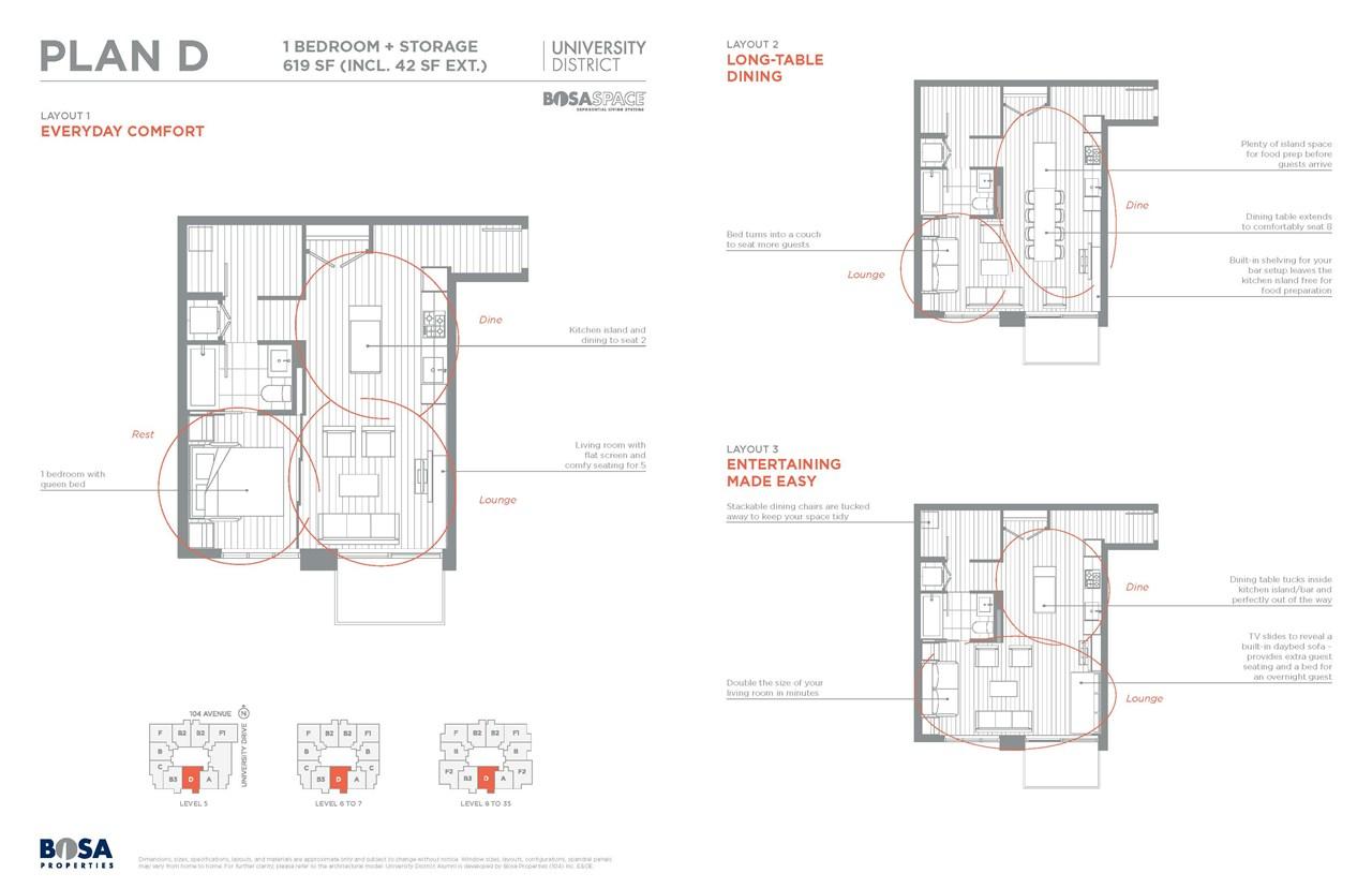 Condo Apartment at 1712 13398 104 AVENUE, Unit 1712, North Surrey, British Columbia. Image 1