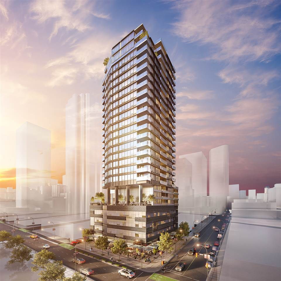 Condo Apartment at 1302 885 CAMBIE STREET, Unit 1302, Vancouver West, British Columbia. Image 2