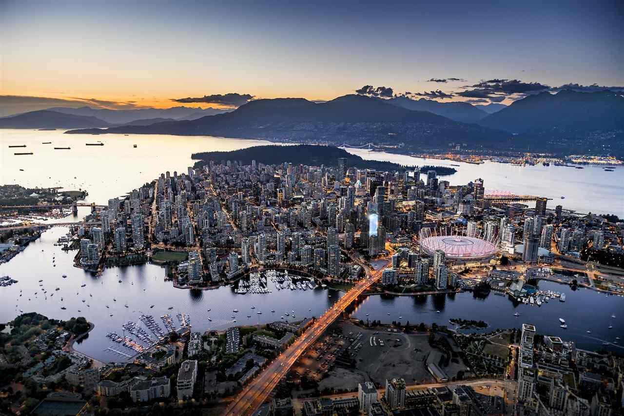 Condo Apartment at 1302 885 CAMBIE STREET, Unit 1302, Vancouver West, British Columbia. Image 3