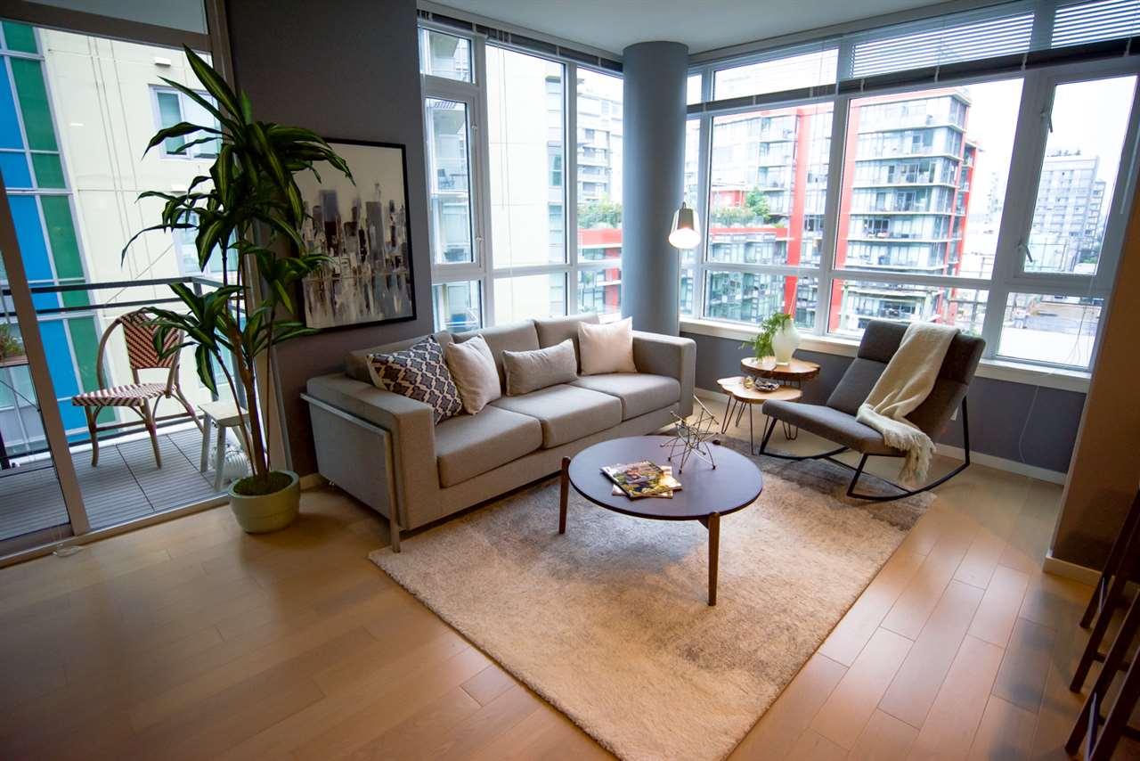 Condo Apartment at 707 89 W 2ND AVENUE, Unit 707, Vancouver West, British Columbia. Image 1