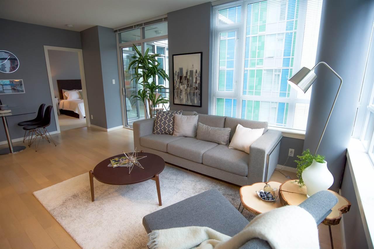 Condo Apartment at 707 89 W 2ND AVENUE, Unit 707, Vancouver West, British Columbia. Image 2
