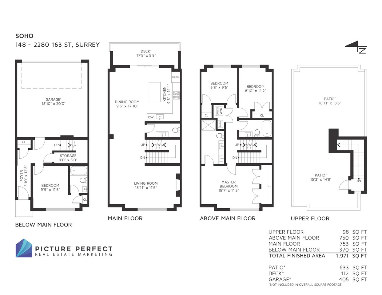 Townhouse at 148 2280 163 STREET, Unit 148, South Surrey White Rock, British Columbia. Image 2