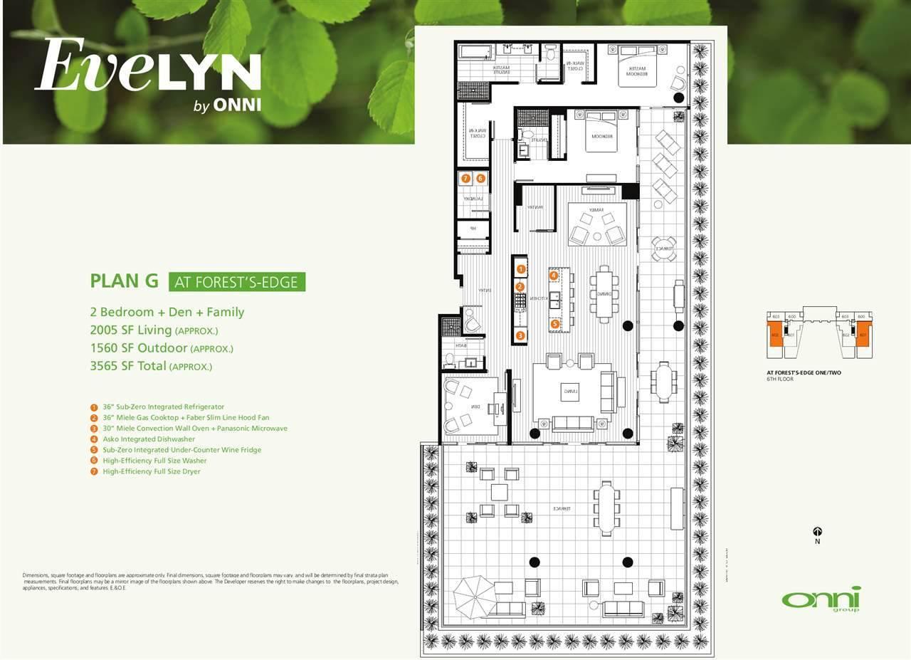 Condo Apartment at 601 866 ARTHUR ERICKSON PLACE, Unit 601, West Vancouver, British Columbia. Image 3