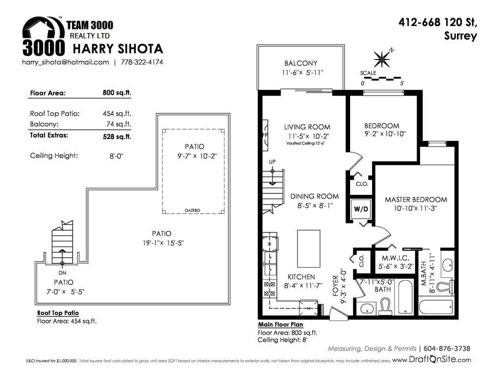 Condo Apartment at 412 6688 120 STREET, Unit 412, Surrey, British Columbia. Image 20