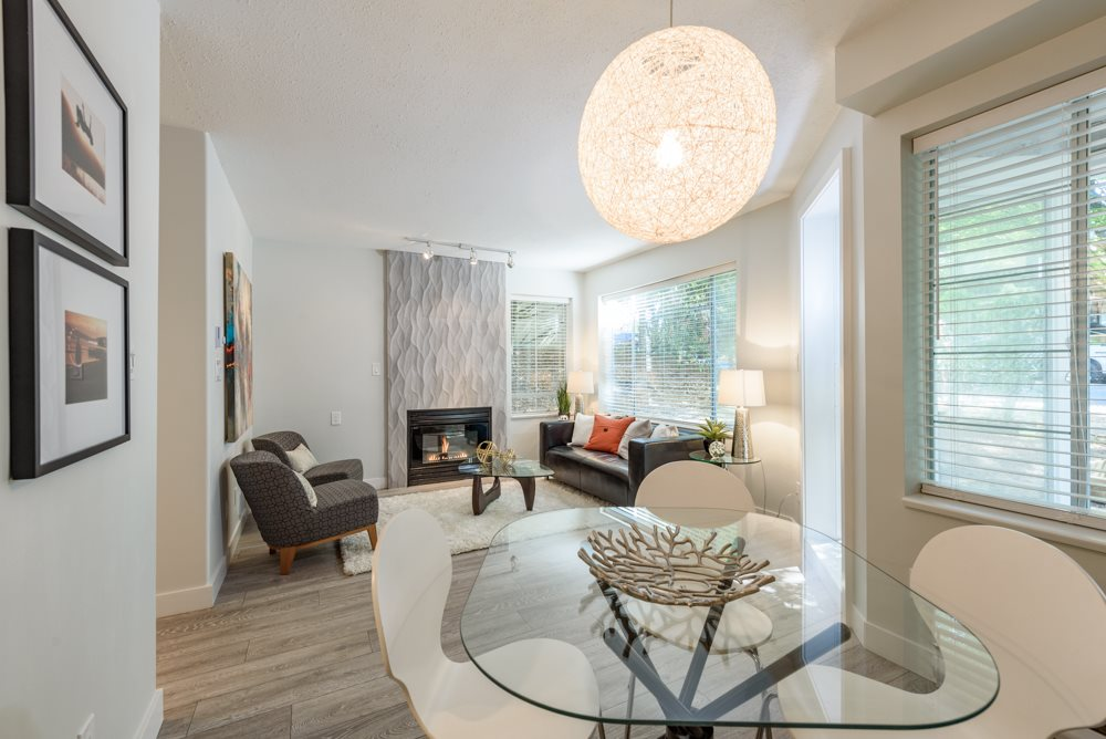 Condo Apartment at 105 1433 E 1ST AVENUE, Unit 105, Vancouver East, British Columbia. Image 2
