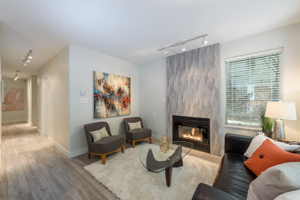 Condo Apartment at 105 1433 E 1ST AVENUE, Unit 105, Vancouver East, British Columbia. Image 5