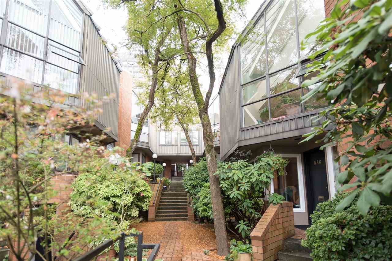Townhouse at 848 W 7 AVENUE, Vancouver West, British Columbia. Image 1